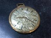 MOVADO Pocket Watch POCKETWATCH 14K Yellow Gold 32.1g